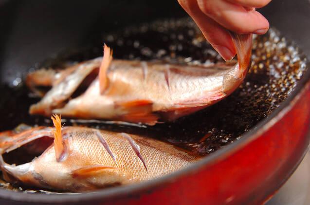 メバルの煮付けの作り方の手順5