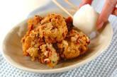 レンコン揚げ豆腐の作り方8