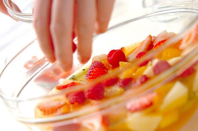 フルーツスープの作り方の手順4