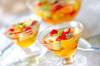 フルーツスープの作り方の手順