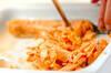 簡単あんかけ鮭チャーハンの作り方の手順1