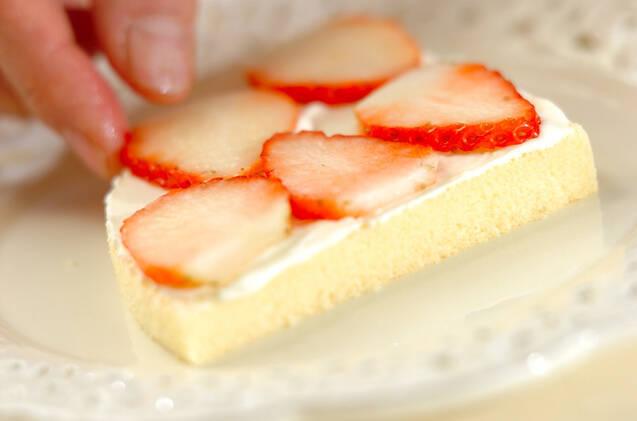 簡単ミニショートケーキの作り方の手順4