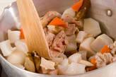 根菜と豚肉のあっさり煮の作り方7