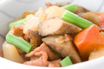 根菜と豚肉のあっさり煮