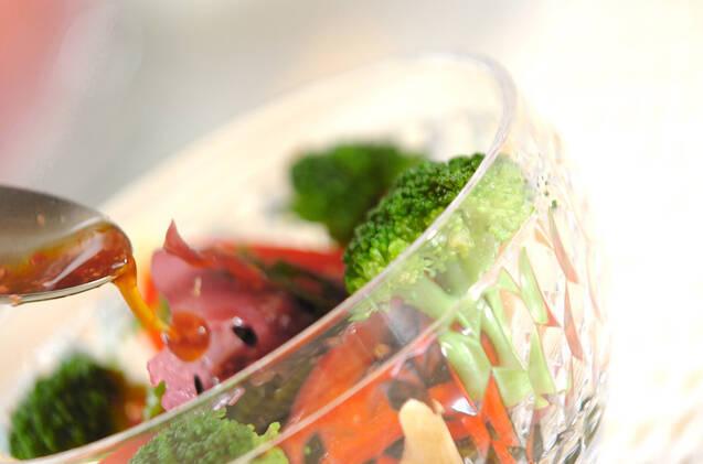 カラフル海藻サラダの作り方の手順6