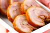 ゆで鶏のしょうゆ漬けの作り方の手順