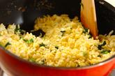 ジャコと小松菜のチャーハンの作り方3