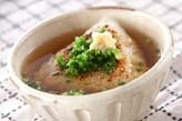 焼きおにぎりスープ
