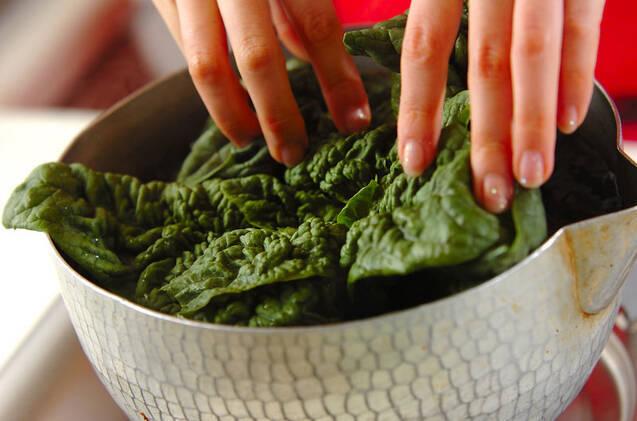 焼き納豆春巻きの作り方の手順1