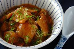 豚バラ肉と冬瓜のみそ煮
