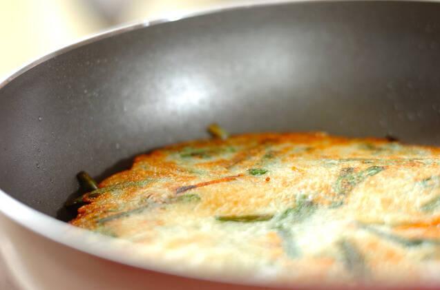野菜たっぷり!ジャガイモ入りもちもちチヂミの作り方の手順7