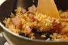混ぜて焼くだけチャーハンの作り方の手順4