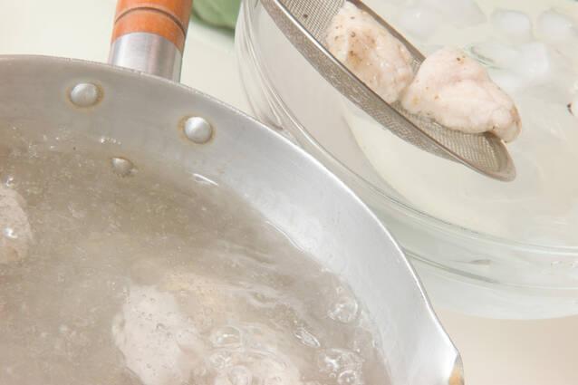 鶏つるりんお素麺の作り方の手順2