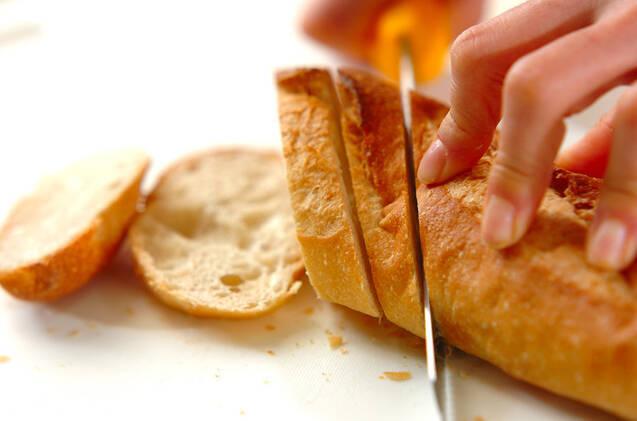 エッグトーストの作り方の手順1
