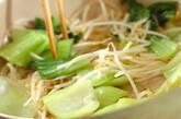 モヤシのピリ辛卵とじの作り方4