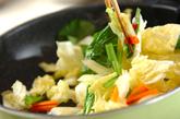 白菜のクリーム煮の作り方1
