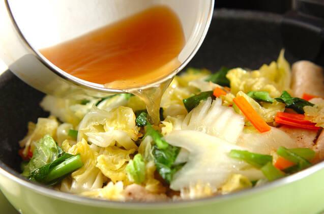 白菜のクリーム煮の作り方の手順8