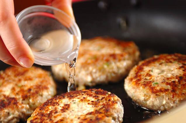 豆腐入りハンバーグの作り方の手順7