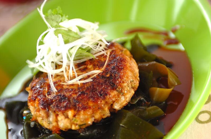 照り焼きソース~豆腐ハンバーグ
