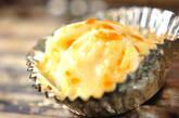 ゆで卵のチーズ焼きの作り方2