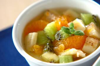 フルーツ入りアンニン豆腐