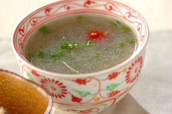 レンコンのトロミスープ