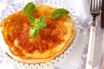 梅酒のハニーパンケーキ