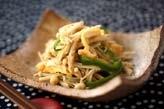 エノキの炒め物