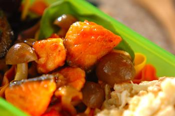 鮭のソテートマトソース