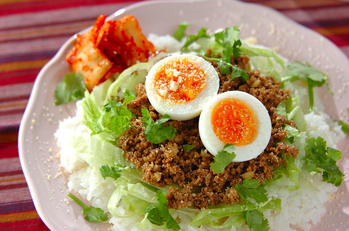 韓国風混ぜご飯