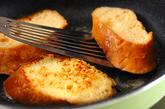 フレンチトーストの作り方2