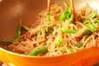 ピリ辛糸コン炒めの作り方の手順4