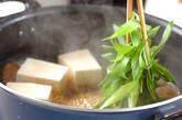 カレイのピリ辛煮付けの作り方7