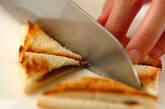のりバタートーストの作り方2