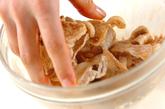豚キムチ混ぜご飯の作り方2