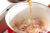 レンコンと長芋の煮物の作り方1