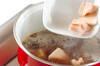 レンコンと長芋の煮物の作り方の手順4