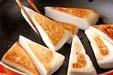 ハンペンのバター焼きの作り方1