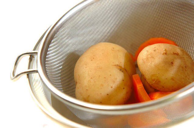 ポテトの春巻きの作り方の手順8