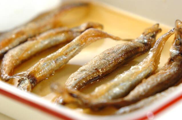 揚げシシャモの甘酢漬けの作り方の手順3