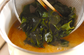 里芋のみそ汁の作り方2