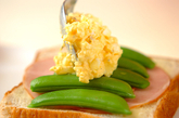 春の卵サンド&イチゴサンドの作り方3