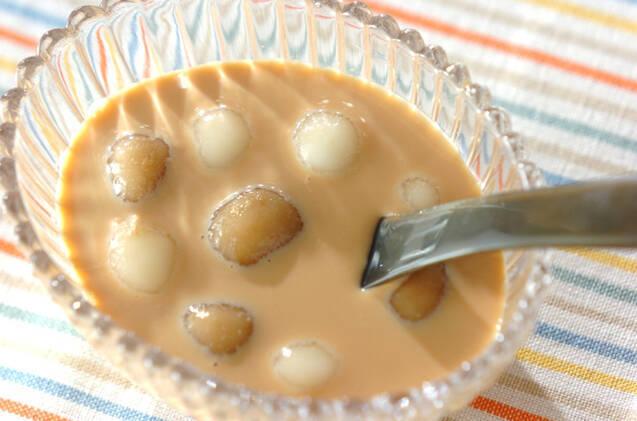 2色白玉入りキャラメルミルク
