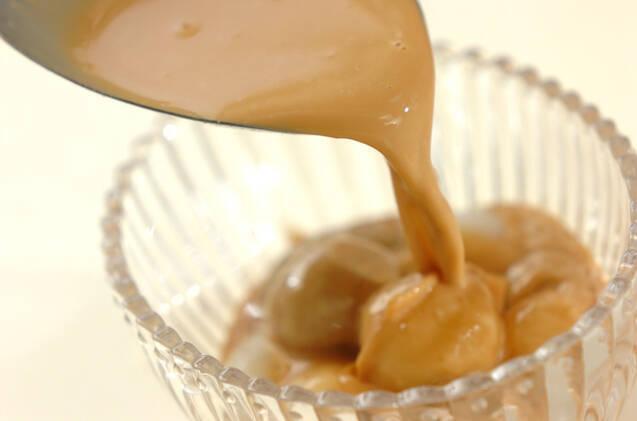 2色白玉入りキャラメルミルクの作り方の手順6