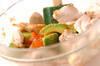 アボカドと鶏のタラコ和えの作り方の手順3
