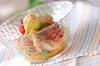 アボカドと鶏のタラコ和えの作り方の手順