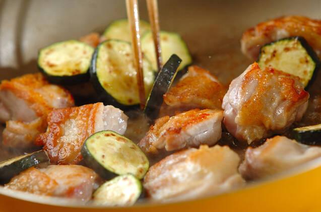 鶏肉の照り焼き梅風味の作り方の手順2