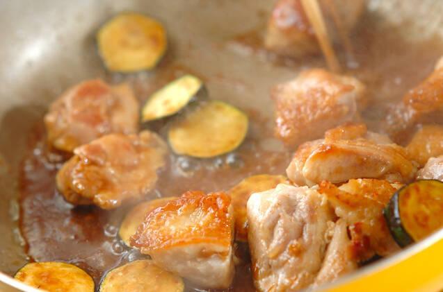 鶏肉の照り焼き梅風味の作り方の手順4