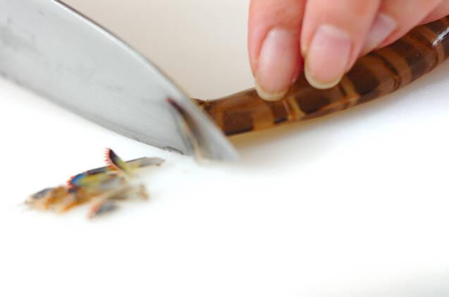 エビのうま煮の作り方の手順1