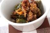 牛肉とピーマンの炒め煮